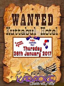 Karaoke at Kuttabul Hotel -- Australia Day Mackay Mackay City Preview