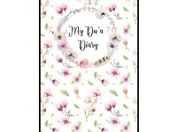 My Dua Diary, Islamic, Journal, Notebook, Planner, Eid Gift
