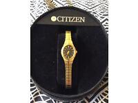 Ladies Gold Citizen Watch