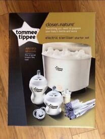 Brand New - Tommee Tipee Electric Steriliser Kit