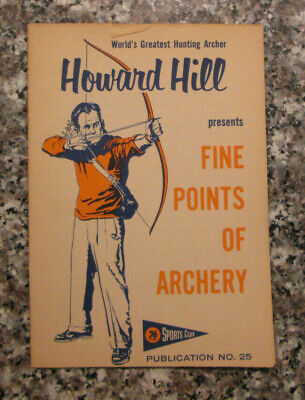 """archery B/&W 1943 Howard Hill 11/""""x8 1//2/"""" Reproduction Photograph hunting"""
