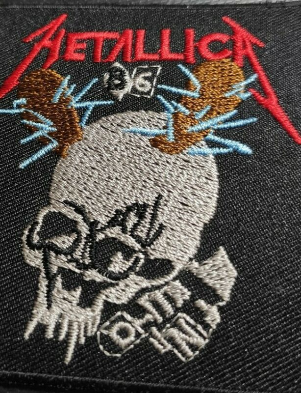 Metallica Patch Embroided Iron on or Sew on Patch (USA SELLER) METALLICA B6