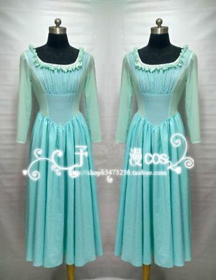 Movie Cinderella Pricess Adult Party Hallowmas Uniform Cosplay Costume Custom#9 - Pricess Costumes