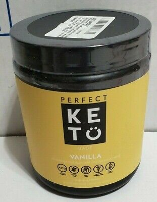 Perfect Keto Base Powder Exogenous Ketones Vanilla BEST BY 10/2020 (Best 10 Protein Powder)