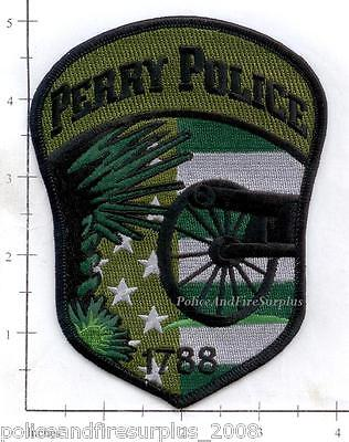 South Carolina - Perry SC Police Dept Patch v3