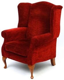 Rust Red John Lewis Armchair