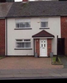 Lovely 3 bed Townhouse for rent. Bootle