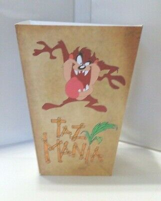 Tasmanian Devil Popcorn Box. Looney Tunes Cartoons. Taz......free Shipping