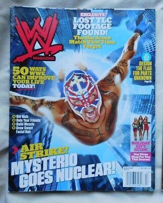WWE MAGAZINE Holiday 2010 MYSTERIO