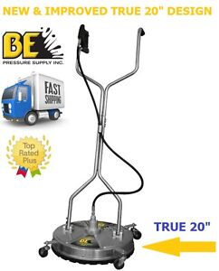 Be pressure whirl a way 20 39 39 stainless steel flat surface for Best pressure cleaner for concrete