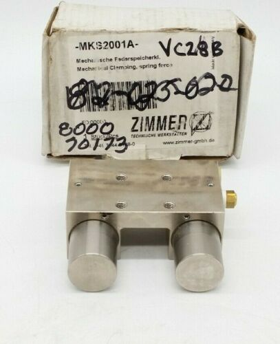 Zimmer MKS Series (MKS2001A) Pneumatic Clamp