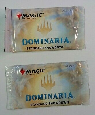 2 Magic The Gathering MTG Dominaria SEALED Standard Showdown Booster Packs