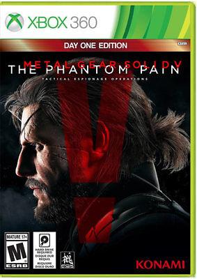 Metal Gear Solid V: The Phantom Pain Xbox 360 New Xbox 360, Xbox 360