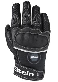New Stein STG601 Mesh Motocycle Gloves Red, Blue Or Black (Limited Availability)