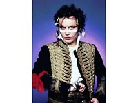2 x Adam Ant tickets. Face value. Row F, centre. Bridgewater Hall, 10th May. Tickets in hand.