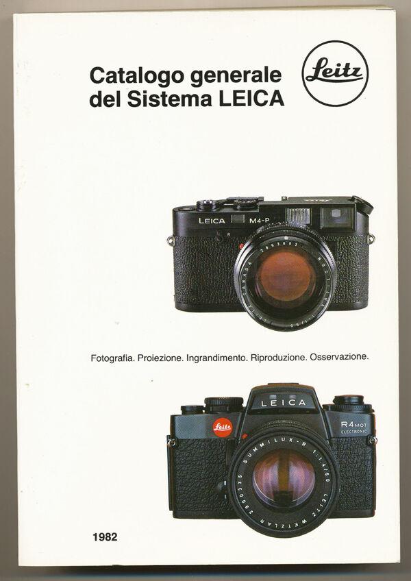 Leitz, Catalogo generale del Sistema Leica 1982 in italiano D896