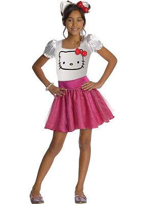 Rubies Hello Kitty Kinder Mädchen Kostüm Fasching Karneval - Kinder Hello Kitty Kostüm