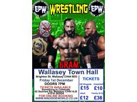 EPW - AMERICAN WRESTLING - WALLASEY FRIDAY 1st DECEMBER