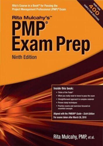 PMP Exam Prep 9th Edition by Rita Mulcahy 🔥[P.D.F]🔥