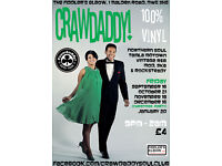 Crawdaddy! Christmas Party with guest DJ Alan Handscombe-McGrath - northern soul, ska, mod, motown