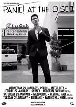 Panic! at The Disco Melbourne GA- ALL AGES Golden Bay Rockingham Area Preview