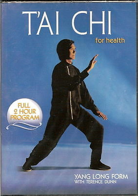 Terence Dunn TAI CHI FOR HEALTH Yang LONG FORM T'ai 108 Posture Region Free DVD