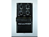 Tokai Metaldriver TMD-1 Overdrive / Distortion Vintage MIJ Guitar Effect Pedal