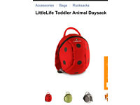 Littlelife ladybird backpack with reins