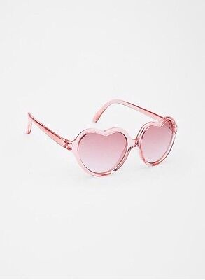 GAP Baby / Toddler Girl NWT Heart-Shaped / Valentine / Love Sunglasses - Pink