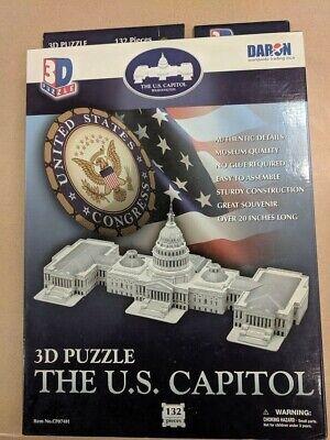 3D Puzzle U.S. Capitol Building