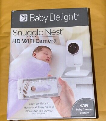Baby Delight Snuggle Nest HD WiFi Camera to use with a Smartphone   Real-Time