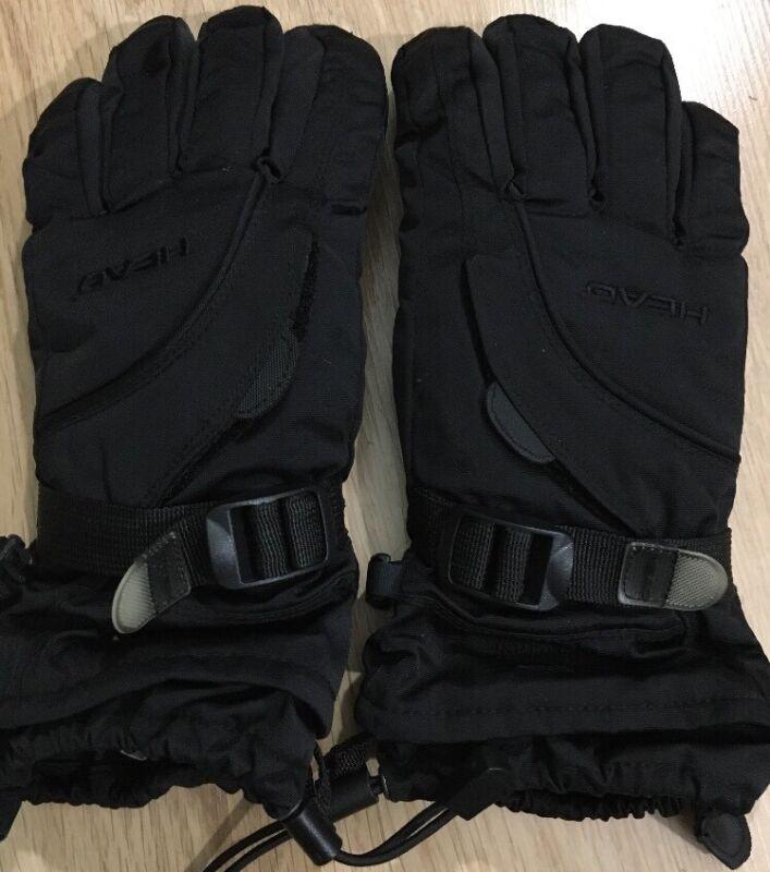 HEAD Gloves Youth Size Large Black Hand Warmer Pocket