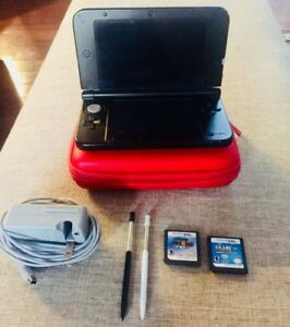 3DS XL Special Edition Lot- Comes with Case & Two Games