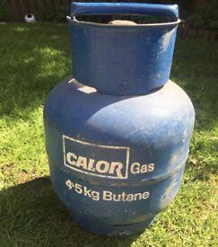4.5 KG Calor Gas Bottle Full.