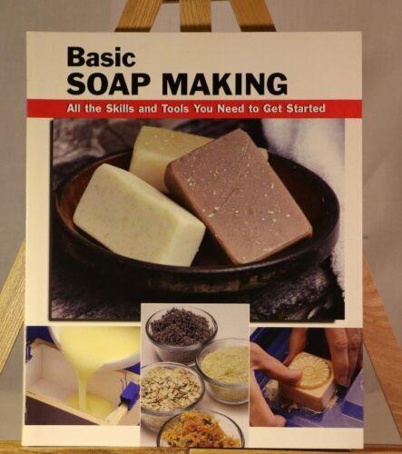 Basic Soap Making, Skills & Tools to get started, Elizabeth Letcavage