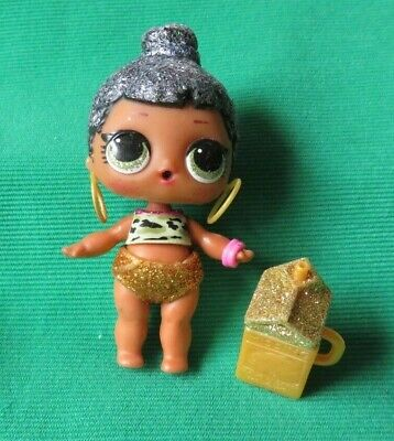 LOL Surprise Holiday Bling Series Honey Bun Doll /& random dress /&shoes accessory