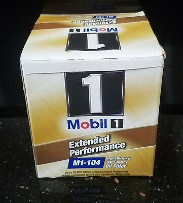 Mobil 1 M1-104 Extended Performance Engine Oil Filter NEW In Box high