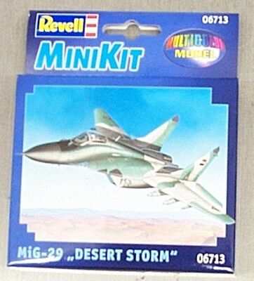 Revell  Mig-29 Desert Storm  Mini Snap Kit 6713 (Aircraft Mini Snap)