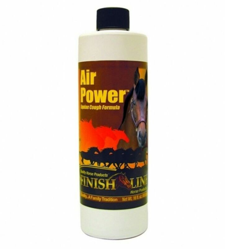 AIR POWER 16 oz All Natural Aid for Minor Cough Due to Irritation Equine Horse