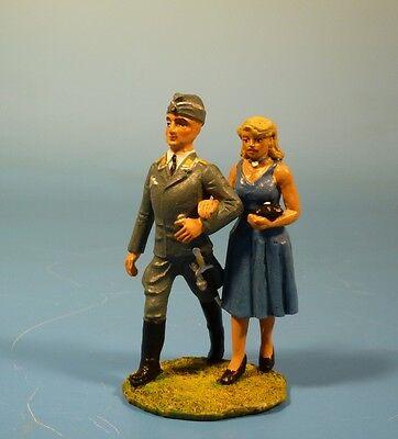 Lineol / Elastolin - Wehrmacht - Luftwaffen Spaziergang – 7cm Serie