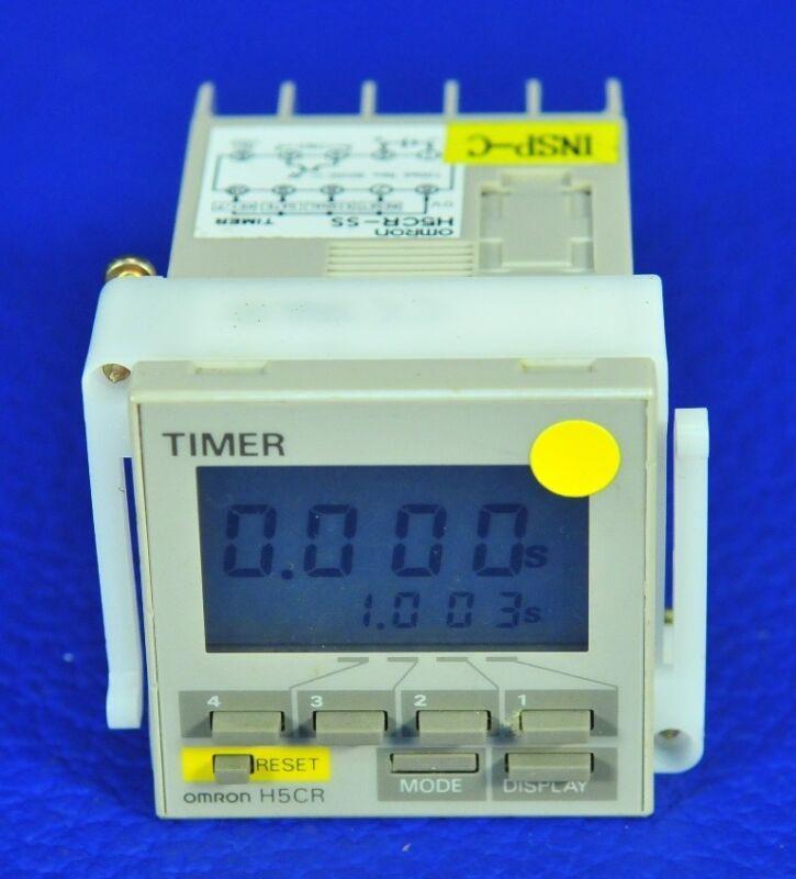 1210 OMRON MULTIFUNCTION DIGITAL TIMER H5CR-SS