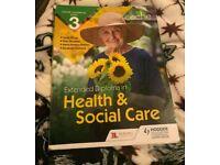Heath & Social Care Technical Level 3 Text Book