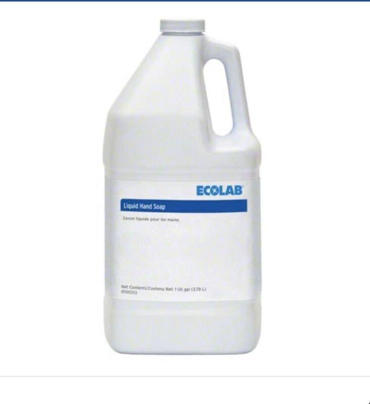 Ecolab 6100313 Liquid Hand Soap 1 Gallon 025469004215 No Phosphorus