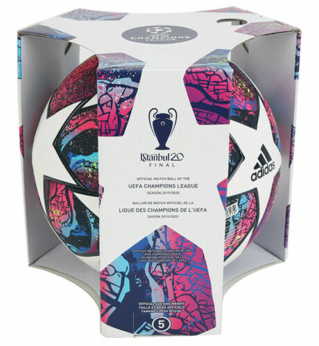 Adidas Final Istanbul 2020 UEFA Champions League Match Ball authentic