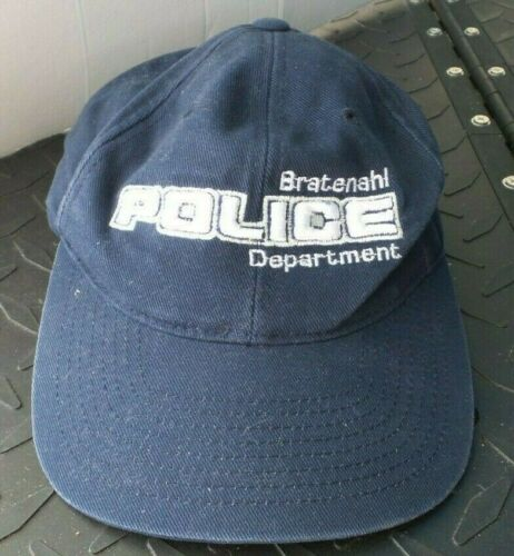 BRATENAHL OHIO POLICE DEPARTMENT BASEBALL CAP HAT ADJUSTABLE MFG BY YUPOONG
