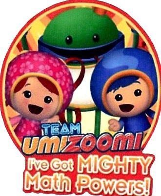 2 5  3 5  Team Umizoomi Group Geo Milli Bot Heat Transfer Iron On Character