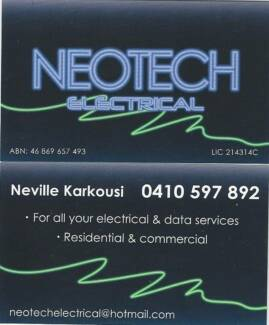 NEOTECH ELECTRICAL - Electrician Earlwood Canterbury Area Preview