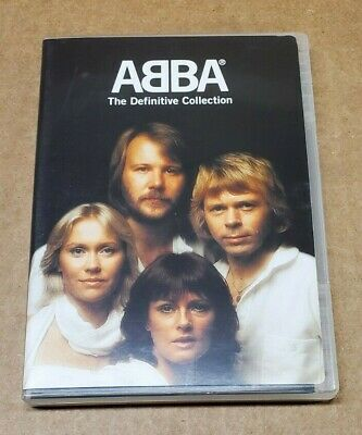 """ABBA """"The Definitive Collection"""" DVD"""