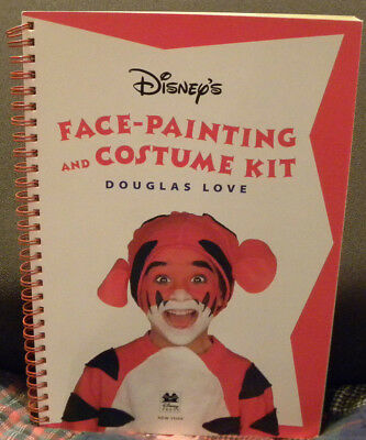 Disney's Face-Painting & Costume Kit (No Paints, Book Only) by Douglas Love - Halloween Font Illustrator