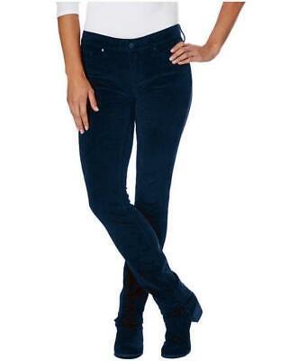 NWT Calvin Klein Ladies' Ultimate Skinny Corduroy Pants Navy Select Size
